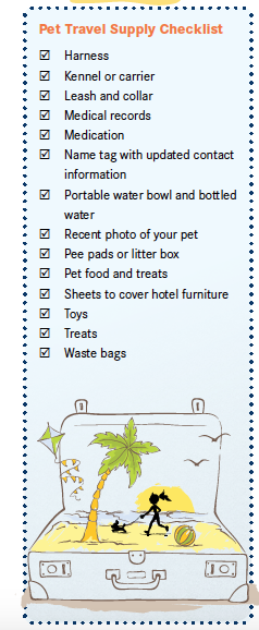 Pet Packing Checklist