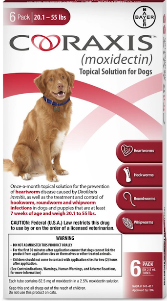 Bayer Launches New Canine Heartworm Preventive