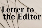 Letter to the Editor (February 2018)